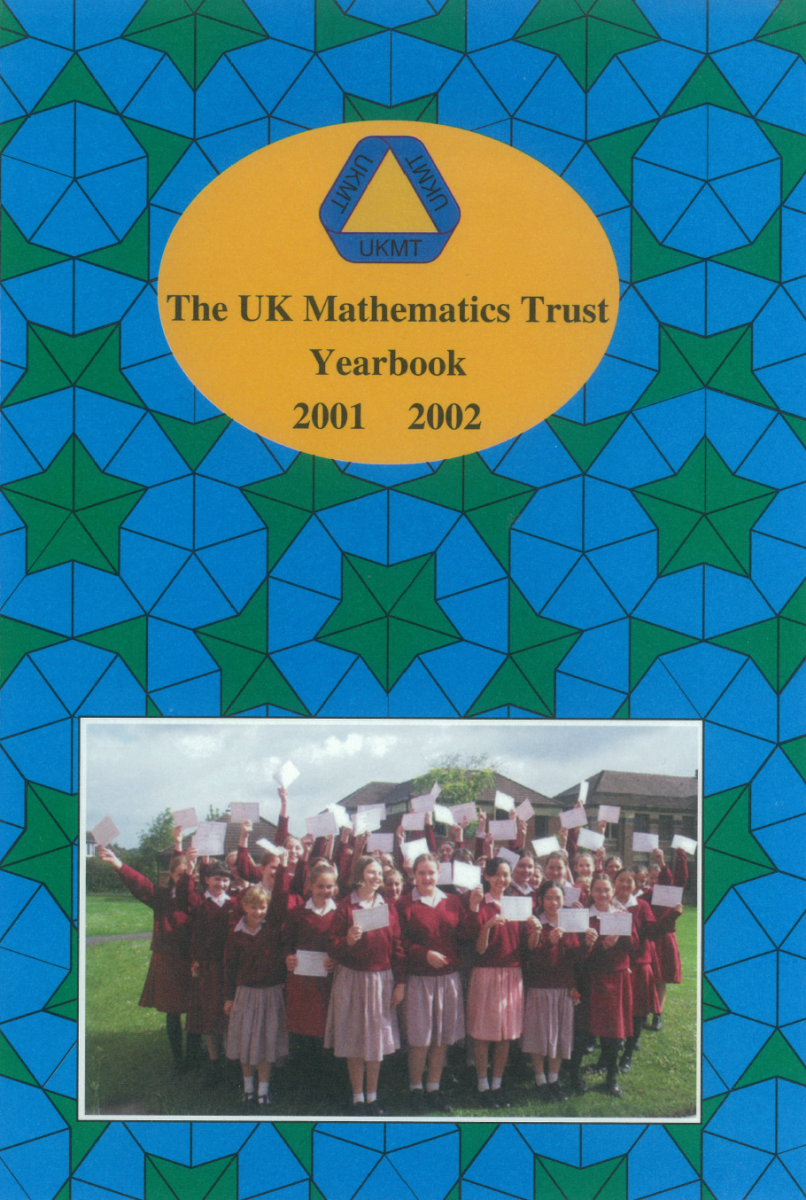 Yearbook 2001-02 cover