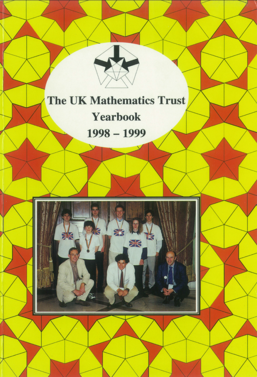 Yearbook 1998-99 cover