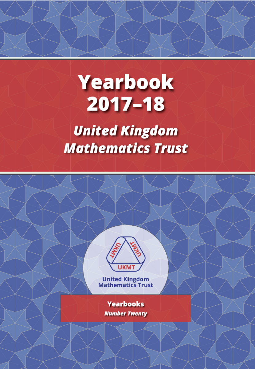 Yearbook 2017-18 cover