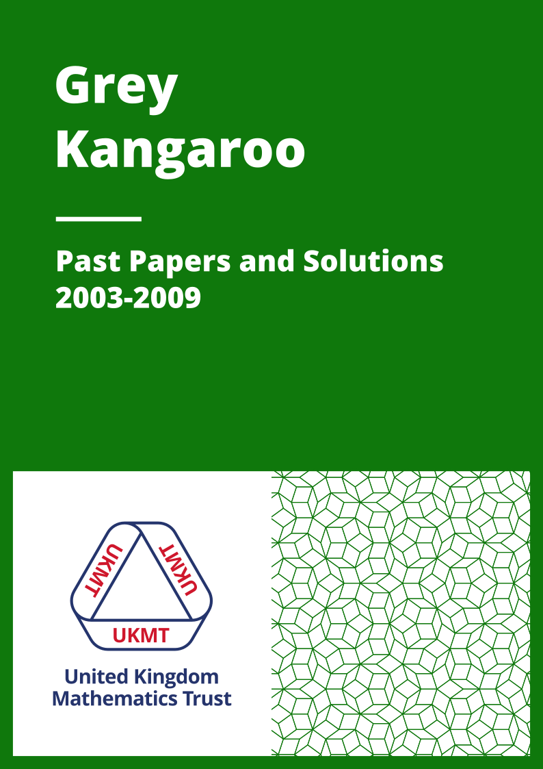 Past Papers: Grey Kangaroo 2003-2009 cover
