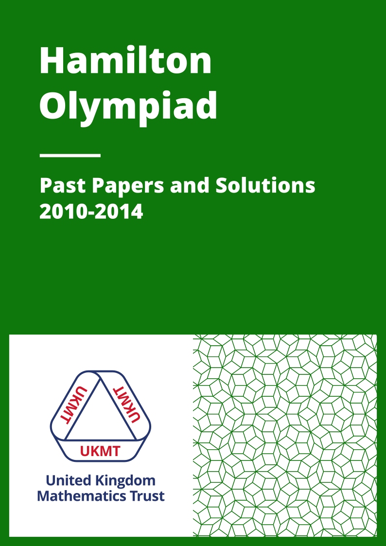 Past Papers: Hamilton Olympiad 2010-2014 cover