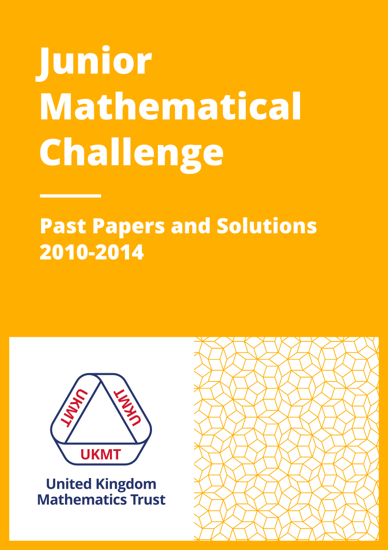 Past Papers: Junior Mathematical Challenge 2010-2014 cover page