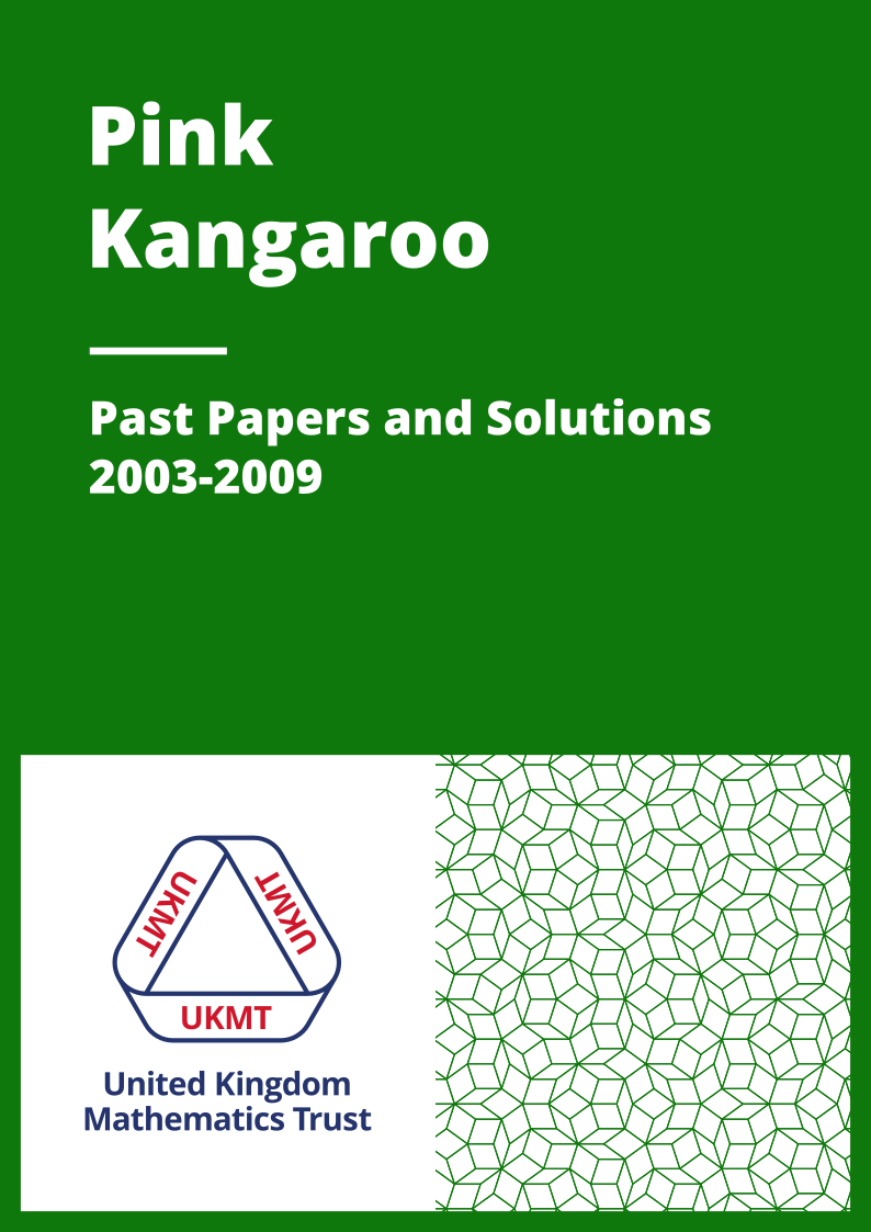 Past Papers: Pink Kangaroo 2003-2009 cover