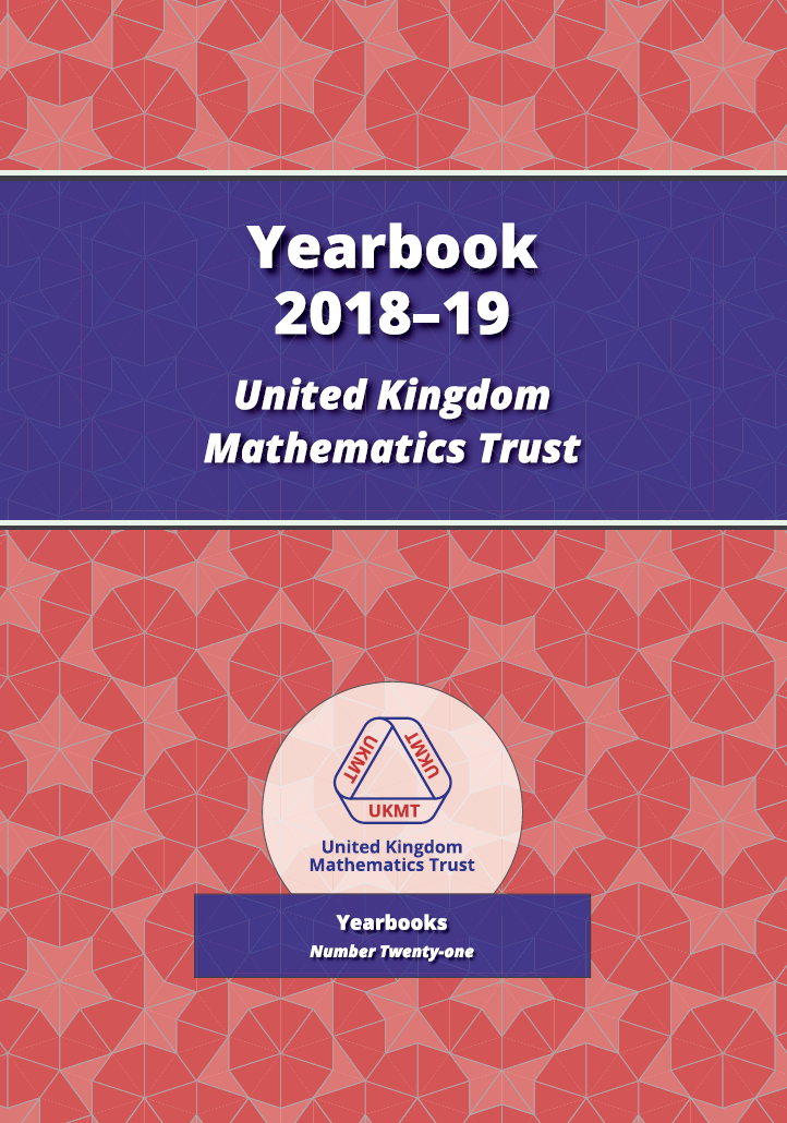 Yearbook 2018-19 cover