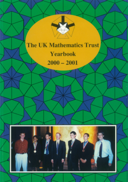 Yearbook 2000-01 cover