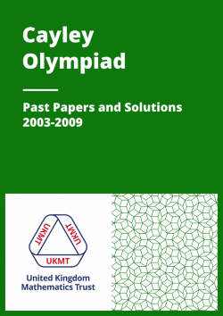 Past Papers: Cayley Olympiad 2003-2009 cover