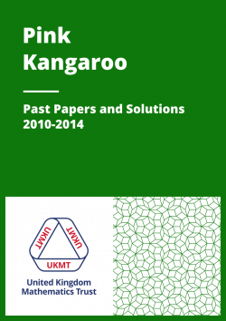 Past Papers: Pink Kangaroo 2010-2014 cover