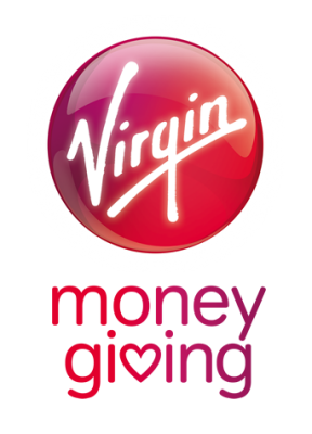 Make a one-off donation through VirginMoneyGiving
